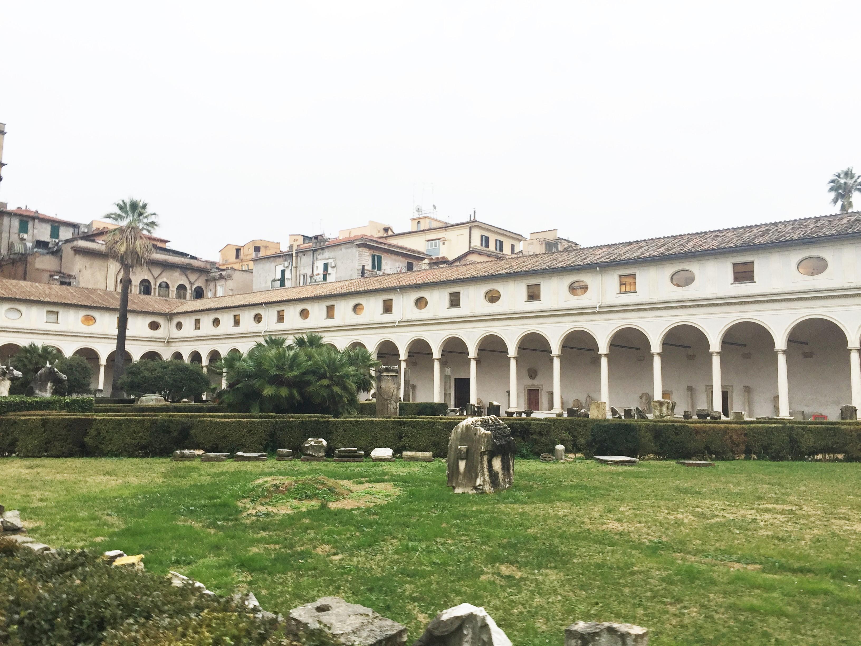 Claustro das Termas de Diocleziano