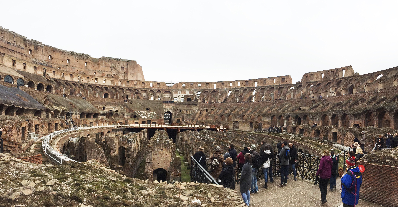 Coliseu Romano (interior)