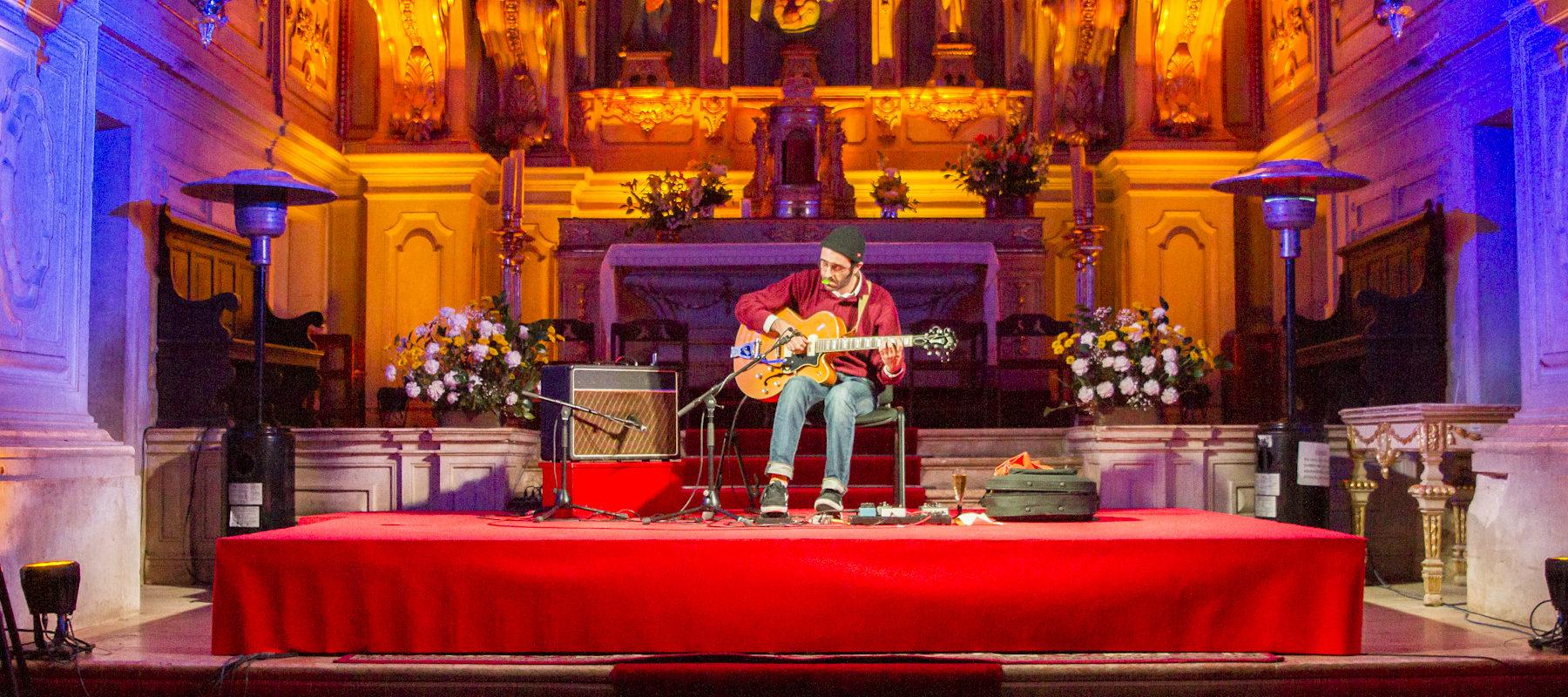 Permalink to: Norberto Lobo no festival Soam As Guitarras | Reportagem Fotográfica