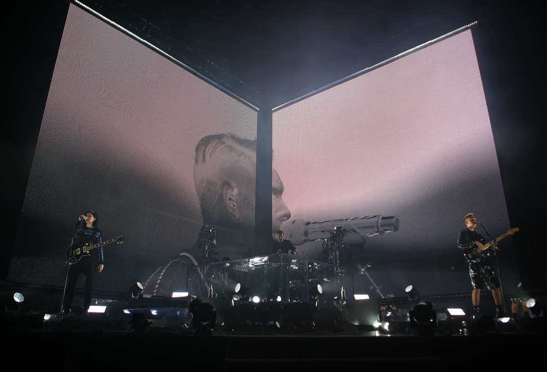 Permalink to: The XX no Super Bock Super Rock | Reportagem Fotográfica