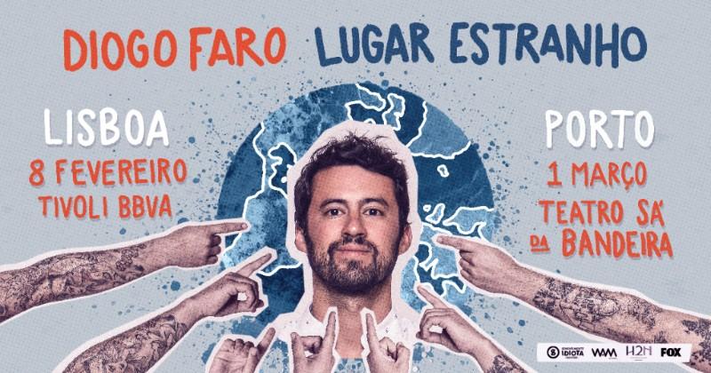 Permalink to: Diogo Faro estreia Lugar Estranho em lugares bonitos.